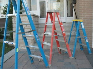 3 commercial ladders