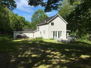 Private location-18 acres- and great charming home! Take a look