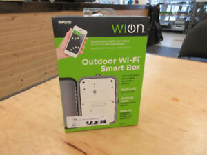 **FEATURE-FILLED** WiOn 50054 Outdoor Smart Box