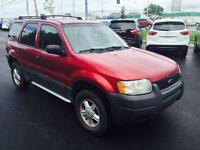 Robuste Ford Escape XLS 2003 !!! Liquidation !!!