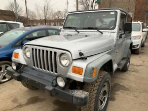 2002 Jeep Wrangler just in for sale at Pic N Save!