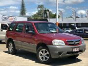 2001 Mazda Tribute Classic Red 4 Speed Automatic Wagon Greenslopes Brisbane South West Preview