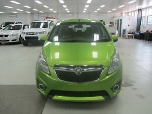 2015 Holden Barina Spark MJ MY15 CD Green 4 Speed Automatic Hatchback Geebung Brisbane North East Preview