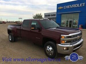 2016 Chev Silverado 3500 Duramax Dually Leather Factory Goosenec