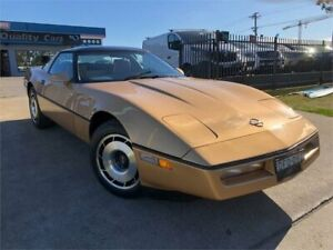 1985 Chevrolet Corvette C4 MY1985 Gold Automatic Coupe Mulgrave Hawkesbury Area Preview