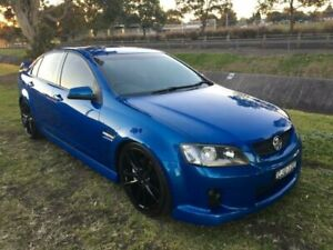 2008 Holden Commodore VE MY09 SS Blue 6 Speed Manual Sedan Mayfield East Newcastle Area Preview