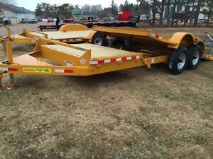 BEST QUALITY TRAILERS LWL equipment hauler, tilt deck, flat deck