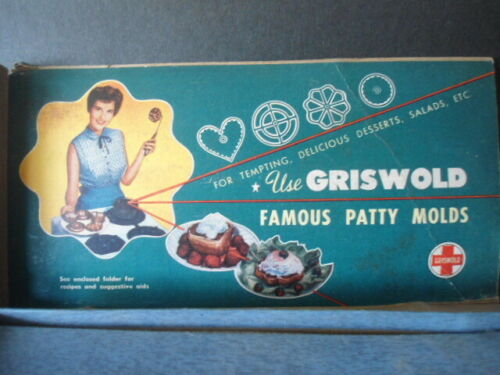 Griswold Famous Patty Molds