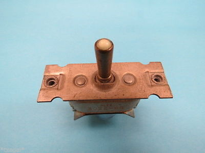 An3022-6b On-off-mom.on Vintage Aircraft Toggle Switch Nos Warbird