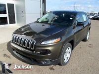 2014 Jeep Cherokee Sport - DEMO, LIKE NEW