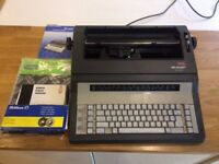 Sharp PA3320 Electronic Typewriter and accessories