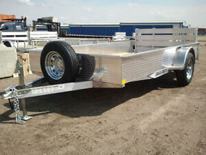 "CHECK THIS OUT! *All Aluminum * CDN Made 76"" x 12' Trailer"