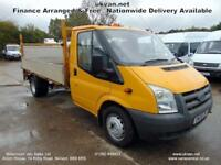 2008 08 FORD TRANSIT LWB DROPSIDE, PICK UP, FORMER COUNCIL OWNED, 1720KG LOAD