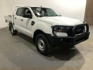 2016 Ford Ranger PX MkII XL 3.2 (4x4) White 6 Speed Manual Crew Cab Chassis Kooringal Wagga Wagga City Preview