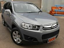 2013 Holden Captiva CG Series II MY12 7 SX Grey 6 Speed Sports Automatic Wagon Ridleyton Charles Sturt Area Preview