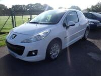 PEUGEOT 207 HDI PROFESSIONAL, White, Manual, Diesel, 2012