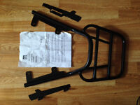 MOTORBIKE HONDA NC700 - RENNTEC SPORTS LUGGAGE CARRIER RACK - used for 1 week ONLY £59. NEW £100