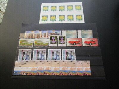 10 mal 10 Cent Postfrisch + 24 Stück Marken ohne Gummierung 1,45 € B-Ware