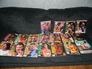 18 WWF Official Magazines from 80s - 90s London Ontario image 1