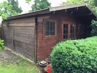 15' X 15' Summer house. Great condition with insulation.