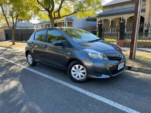2013 Toyota Yaris NCP130R YR Graphite 4 Speed Automatic Hatchback Hawthorn Mitcham Area Preview