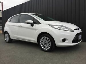 2010 Ford Fiesta WT LX White 6 Speed Automatic Hatchback