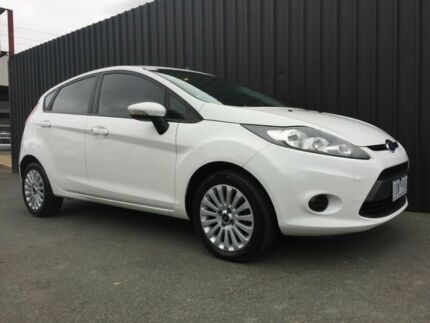 2010 Ford Fiesta WT LX White 6 Speed Automatic Hatchback Phillip Woden Valley Preview
