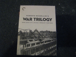Roberto Rossellini's War Trilogy Criterion Collection