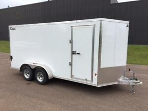 NEW 2018 XPRESS 7' x 16' ALUMINUM ENCLOSED TRAILER