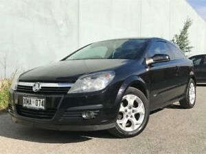 2006 Holden Astra AH MY06.5 CDX Black 5 SP MANUAL Coupe