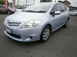 2011 Toyota Corolla ZRE152R MY11 Ascent Blue 4 Speed Automatic Hatchback Preston Darebin Area Preview