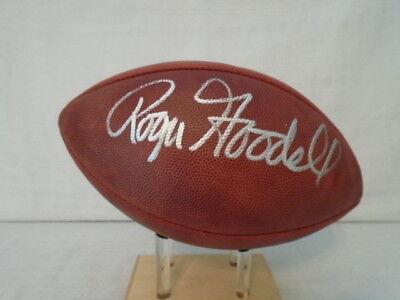 Commissioner Roger Goodell Signed Official The Duke Wilson NFL Football JSA