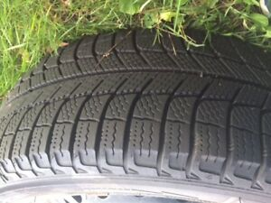 4 X 205/55 R16 Michelin X-Ice Winter Tires on Toyota Rims