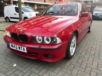 BMW 528I M-SPORT IMOLA RED!