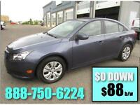 2014 Chevy Cruze LS ($0 DOWN only $88 Bi-Weekly!)