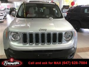 2015 Renegade 4x4 Limited 2.4L 9-Speed