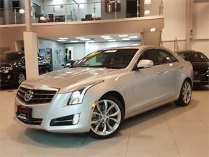 2013 Cadillac ATS PERFORMANCE-AWD-NAVIGATION-LOADED-ONLY 53KM