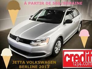 2013 Volkswagen Berline Jetta Comfortline, À PARTIR DE 56$/SEM.