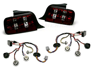 Raxiom Tail Lights with Sequential Harness for Mustang 05-09