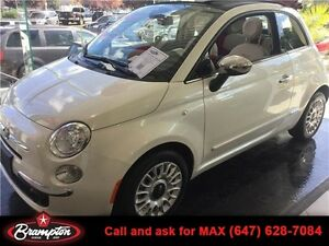 Fun Fun Fun 2015 FIAT 500C LOUNGE LOADED!!! 1.4 L 6-Speed Auto