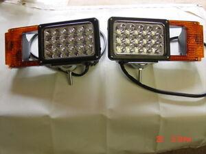 LED upgrade Boss plow lights MSC03747 Arrow snowplow light kit RT3 RT2