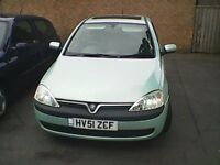 vauxhall corsa 5 door cheap insurance nice learner car 1.2 comfort