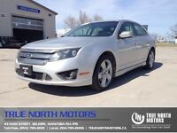 2012 Ford Fusion Sport AWD 79KM Sunroof Back up Cam Leather Seat
