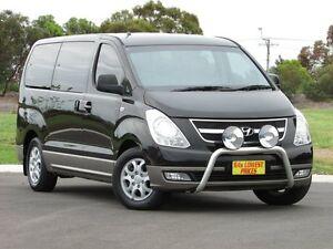 2011 Hyundai iMAX TQ-W MY11 Black 5 Speed Automatic Wagon Blair Athol Port Adelaide Area Preview