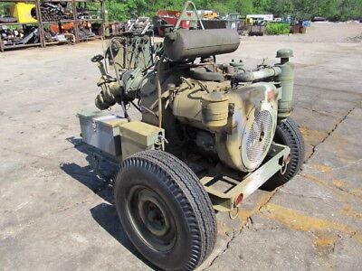 Pea Body Barnes Water Pump Centrifugal 350 Gpm Wisc.