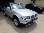 2007 BMW X3 E83 MY07 Steptronic Silver Metallic 6 Speed Sports Automatic Wagon Wangara Wanneroo Area Preview