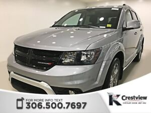 2017 Dodge Journey Crossroad AWD V6 | DVD | Navigation | Sunroof
