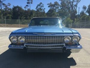 1963 Chevrolet Impala MY65 Blue 2 Speed Automatic Hardtop Lisarow Gosford Area Preview