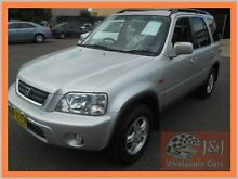 1999 Honda CR-V (4x4) Silver 5 Speed Manual 4x4 Wagon Warwick Farm Liverpool Area Preview