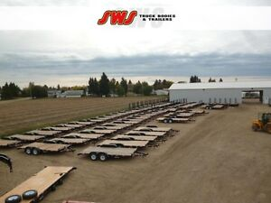 NEW 2017 Construction Trailers 16'- 24'